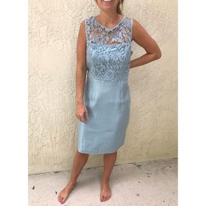 Adrianna Papell Lace Mother of the Bride Dress
